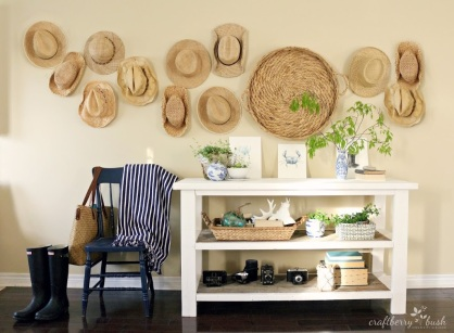 decorar-pared-sombreros